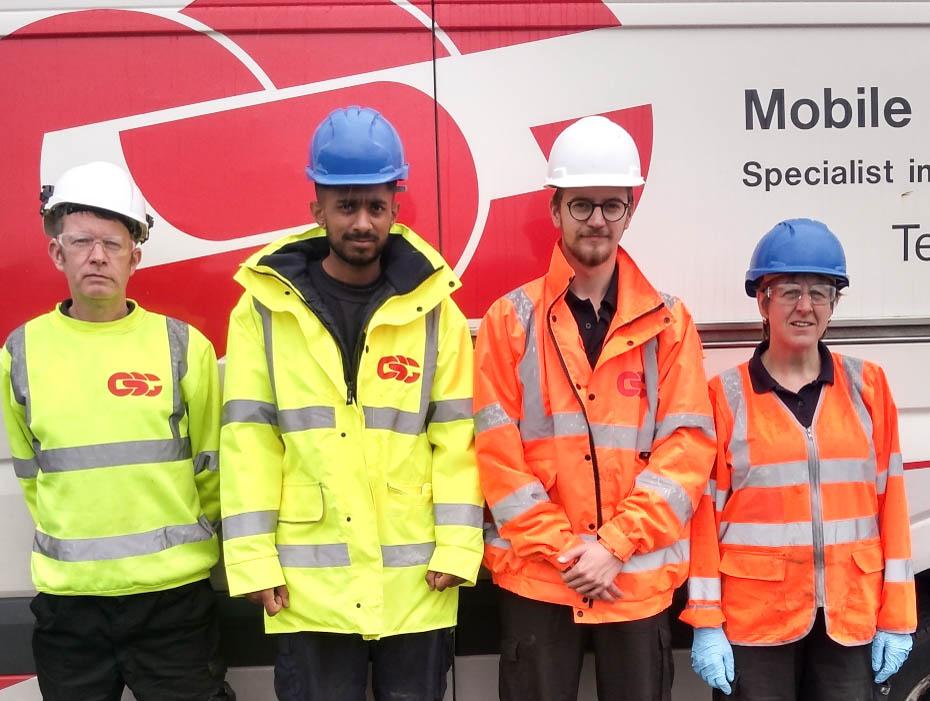 CSG mobile specialist chemicals unit
