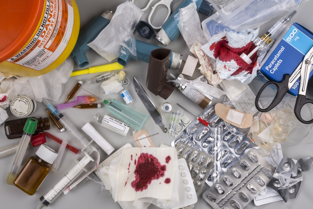 Clinical, medical and pharmaceutical waste